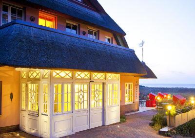 Webseite Romantik Hotels Namenlos & Fischerwiege in Ahrenshoop