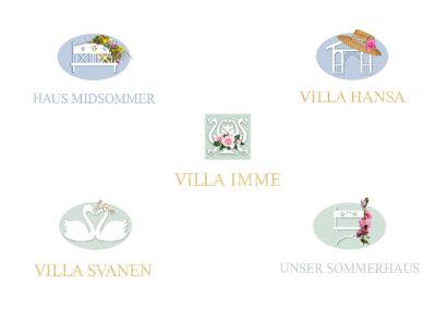 Markenzeichen Serie / Kunde: Dr. Isy Dreesen, Timmendorfer Strand